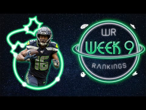2020 Fantasy Football – Week 9 Wide Receiver Rankings