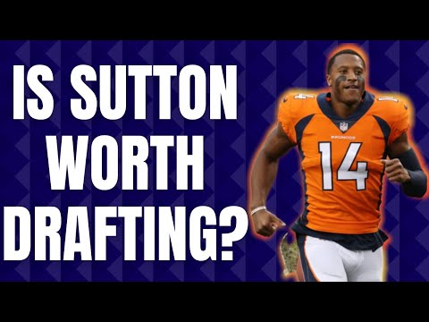 Courtland Sutton's CRAZY Range of Outcomes in 2020 Fantasy Football