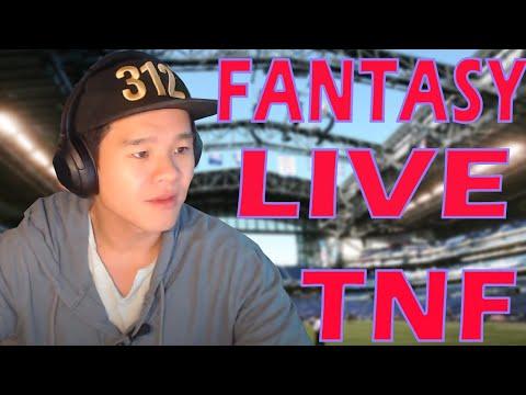 🔴LIVE – Fantasy Football Week 10 Live Chat | Thursday Night Football Kickoff | Q&A