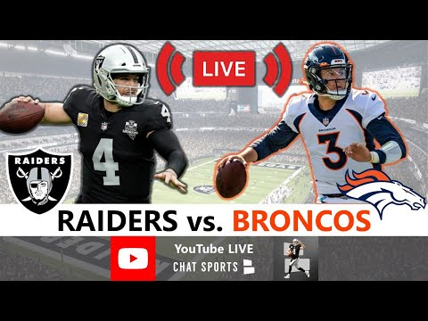 Raiders Beat Broncos 37-12: Live Reaction, Highlights, Analysis, Boxscore | NFL Week 10