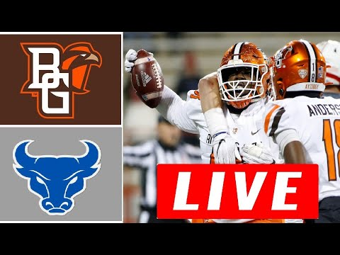 Bowling Green vs Buffalo LIVE HD | College Football LIVE | Week 12 | NCAAF 11/17/2020