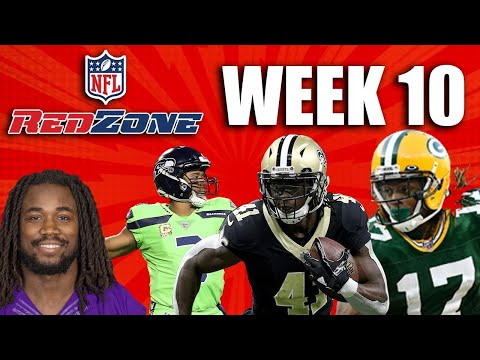 Pre NFL Redzone – Answering Fantasy Football Start Sit Questions- Week 10