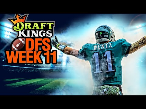 NFL DFS Picks Week 11 DraftKings (2020)
