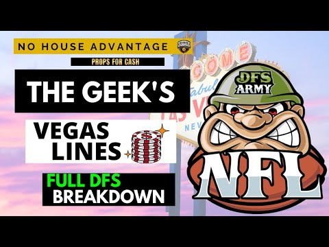 Geek's Vegas Lines NFL Week 2 Daily Fantasy Football and Betting Angles Breakdown