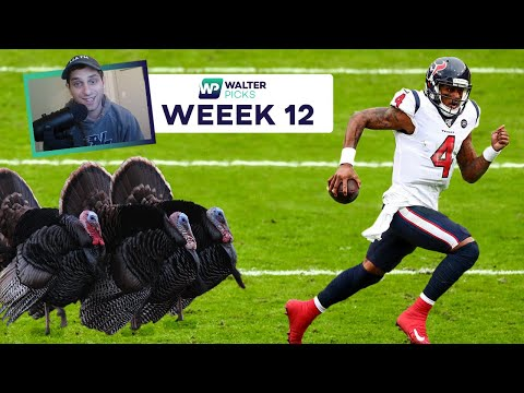 Thanksgiving Football, Fantasy Start/Sit & Free Player Prop Pick | WalterPicks