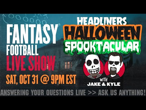 2020 Fantasy Football Advice – Fantasy Football Week 8 – LIVE Q&A
