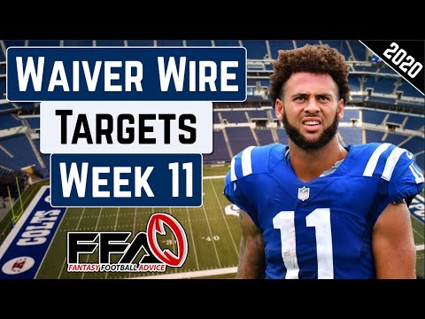 Top Waiver Wire Targets – Week 11 – 2020 Fantasy Football Advice