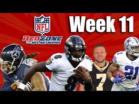 NFL Redzone – Week 11 – Fantasy Watch Party Livestream