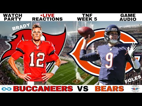 NFL TNF Week 5 Tampa Bay Buccaneers vs Chicago Bears Scoreboard/Reactions/Game Audio