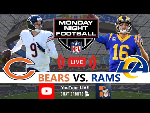 Bears vs. Rams Live Streaming Scoreboard, Play-By-Play, Highlights, Stats & Updates | NFL Week 7 MNF