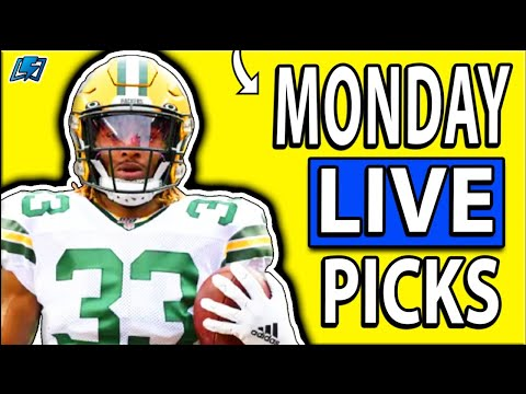 DRAFTKINGS NFL PICKS MONDAY NIGHT SHOWDOWN WEEK 4 LIVE DFS PICKS