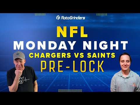 CHARGERS VS SAINTS | MONDAY NIGHT SHOWDOWN NFL WEEK 5: ROTOGRINDERS