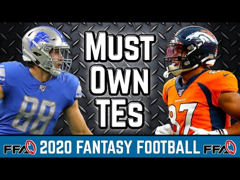 Must Own Tight Ends – 2020 Fantasy Football