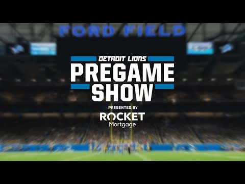 Detroit Lions Pregame Show | Week 1 vs. Chicago Bears