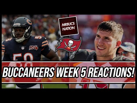 Tampa Bay Buccaneers | Buccaneers vs Bears Reactions Live!