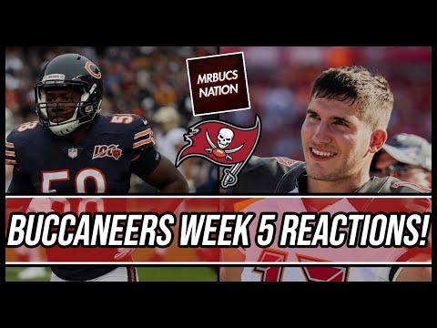 Tampa Bay Buccaneers | Buccaneers vs Bears Reactions Live!