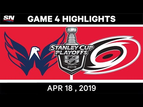 NHL Highlights | Capitals vs Hurricanes, Game 4 – April 18, 2019