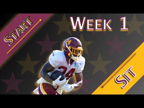 2020 Fantasy Football – Week 1 || Start + Sit || Running Backs ||
