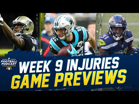 Matchup Previews + Week 9 Injury Analysis with Dr. David Chao (2020 Fantasy Football)