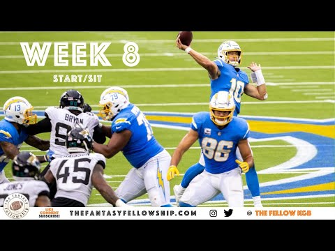 2020 Fantasy Football – Week 8 Start/Sit