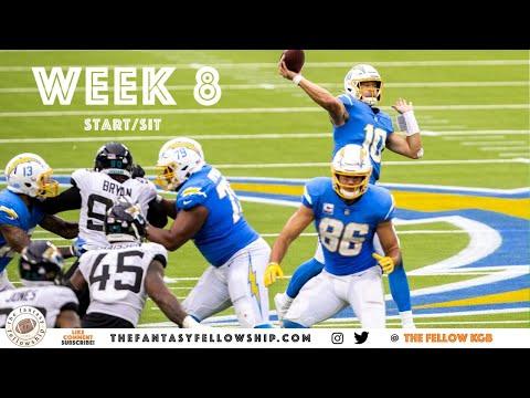2020 Fantasy Football – Week 8 Start/Sit