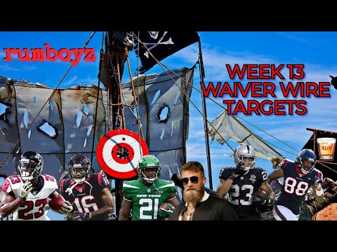 Fantasy Football Waiver Wire Show week 13