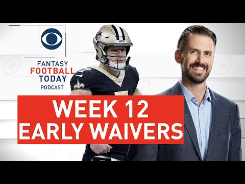 Week 12 EARLY Waiver Wire Targets | DROP Duke Johnson? | 2020 Fantasy Football