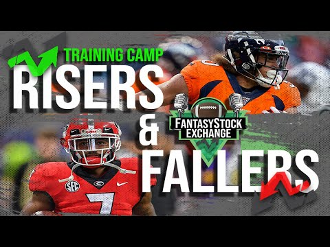 Roster Cut Down Weekend Risers & Fallers- 2020 Fantasy Football