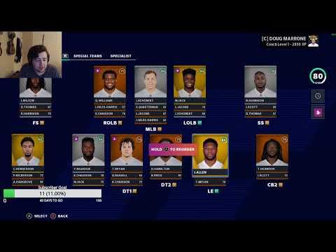 Fantasy Football Live Q&A Madden 21 Jaguars / Texans Rebuild