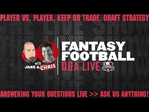 2020 Fantasy Football Advice – Fantasy Football Week 9 – LIVE Q&A