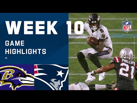 Ravens vs. Patriots Week 10 Highlights | NFL 2020