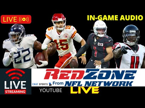 NFL RedZone Streaming Watch Party – NFL Scores, Stats, And Highlights Reaction For Week 12