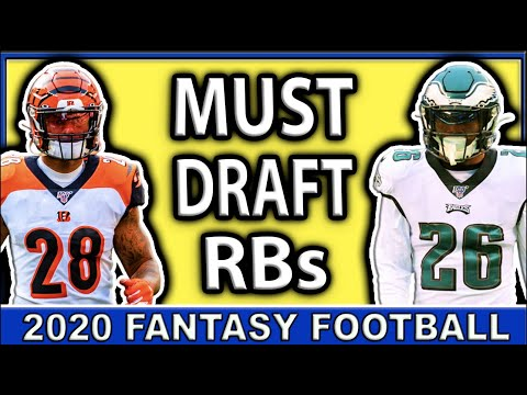 MUST OWN Running Backs in Fantasy Football 2020