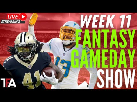 Week 11 Fantasy Football Gameday Show!