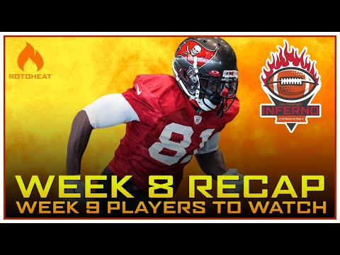 Week 8 Fantasy Football Recap, Who to Watch in Week 9 🏈