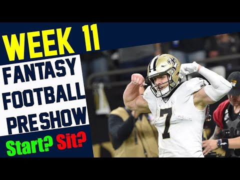 Fantasy Football PreShow – Week 11