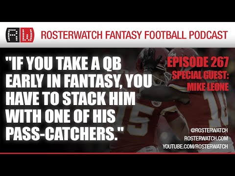 Fantasy Football 2020 – GUEST: Mike Leone of Establish the Run – RosterWatch Podcast Ep 267
