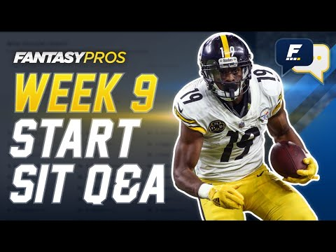 Live Week 9 Start/Sit + Lineup Advice with Kyle Yates (2020 Fantasy Football)