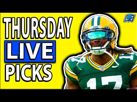 DRAFTKINGS NFL PICKS WEEK 9 THURSDAY NIGHT SHOWDOWN DFS LIVE PICKS