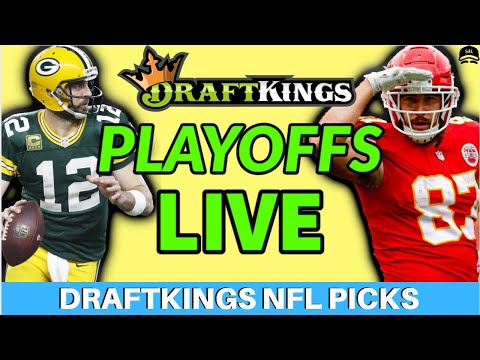 DRAFTKINGS NFL PLAYOFF PICKS DIVISIONAL ROUND PICKS LIVE | FANTASY FOOTBALL DFS PICKS