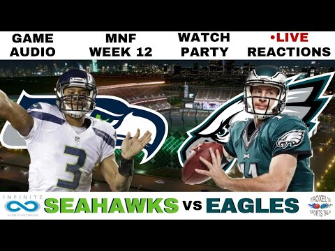 NFL MNF WEEK 12: Seattle Seahawks vs Philadelphia Eagles