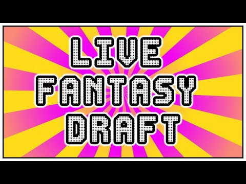 Live Fantasy Football Draft With Subscribers