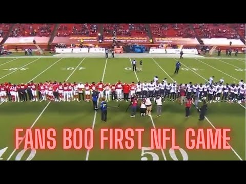 NFL Fans Boo After Texans & Chiefs Virtue Signal Black Lives Matter!