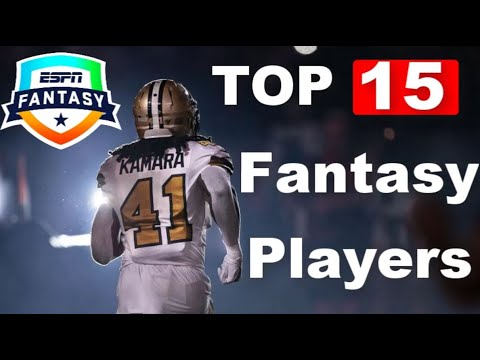 TOP 15 Overall Fantasy Players | 2020 Fantasy Football