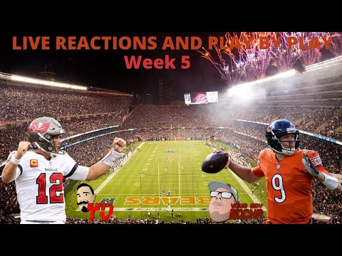 Tampa Bay Buccaneers Vs Chicago Bears Live Reactions And Play By Play