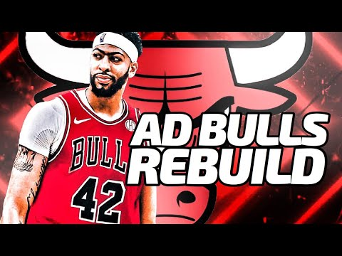 AD Comes Home! Anthony Davis Chicago Bulls Rebuild! NBA 2K20