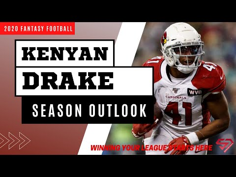 Kenyan Drake Fantasy Football 2020 Season Outlook