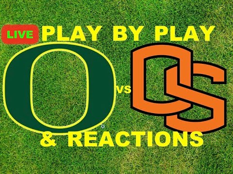 #15 Oregon Ducks vs Oregon State Beavers Play-By-Play & Reactions