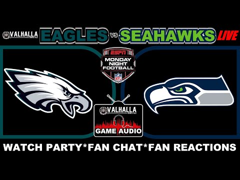 NFL Seattle Seahawks VS Philadelphia Eagles Monday Night Football LIVE Stream Game Audio Scoreboard