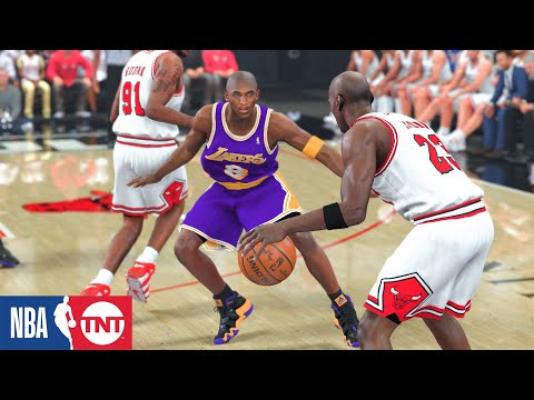 Rookie Kobe vs. prime MJ! | 1996 Lakers vs. Bulls | NBA 2K20 PC Overhaul